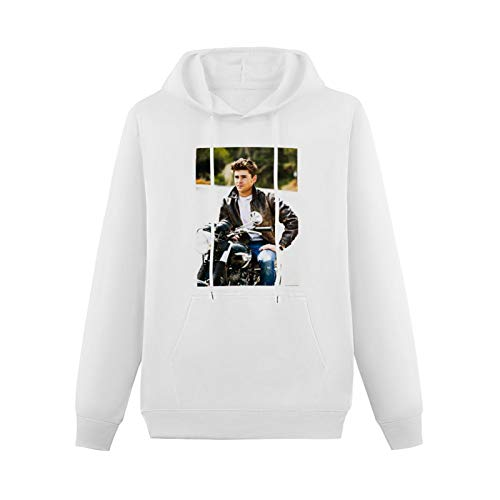 Cool Sweaters for Teenagers Custom Zac Efron Hip-hop Pullovers White XS