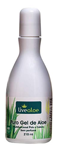 Gel de Babosa Aloe Vera Puro 210ml
