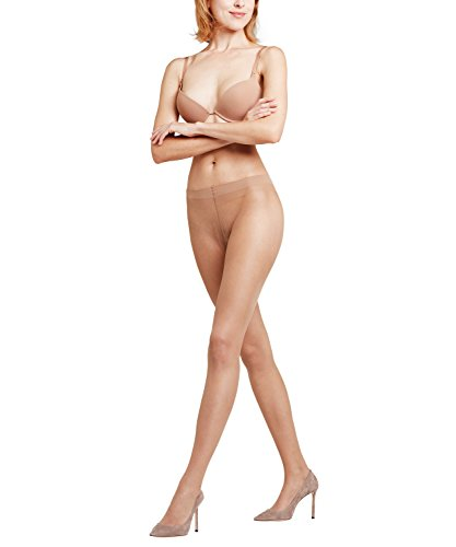 FALKE Damen Strumpfhosen Lunelle 8 Denier - Ultra-Transparente, 1 Stück, Beige (Powder 4169), Größe: XL