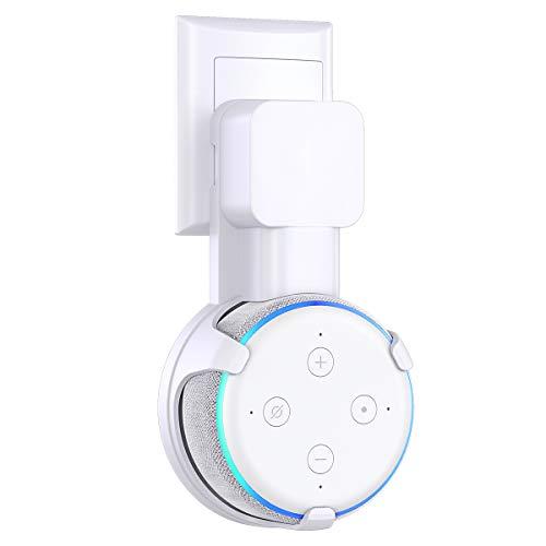 Cocoda Soporte de Pared para Dot 3.ª Generación,Altavoces Doméstico Inteligentes Accesorios (Blanco)