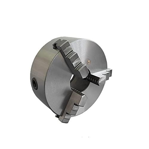 Mandrino autocentrante di precisione per tornio 3+3 griffe in acciaio e corpo in ghisa ø 125 mm per lavorazione metalli e legno - echoENG - MA AC M312