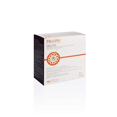 Migliorin Integratore Alimentare per Capelli Unghie, 180 Gellule Da 835 Mg