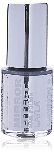 Layla Cosmetics Mirror Effect Nagellack - metal chrome, 1er pack (1 x 0.01 l)