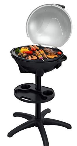 SENYA Barbecue électrique sur pied 2 en 1, barbecue de...