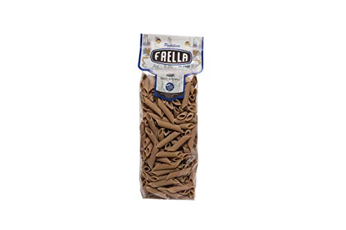Penne rigate integrali. Pastificio Faella. 20 x 500 gr - 10 kg. Pasta di gragnano trafilata in bronzo e impasto lento.
