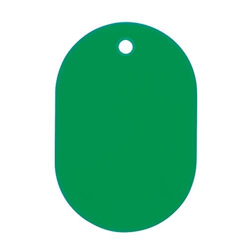 オープン工業 番号札 大 緑(無地) 25枚 BF-40-GN