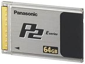 Panasonic AJ-P2E064XG 64GB E-Series P2 Solid State Flash Memory Card