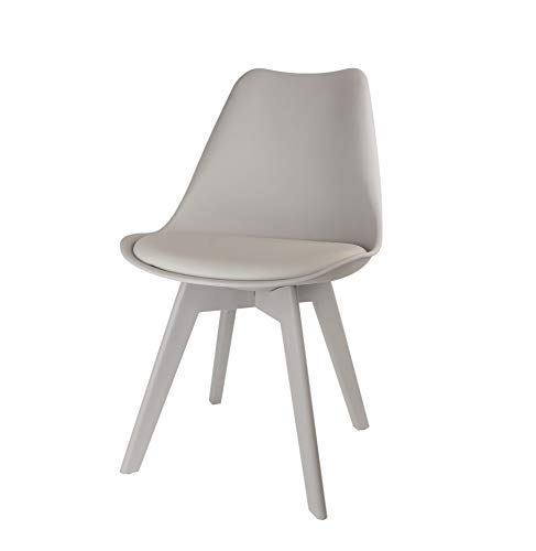 Chaise scandinave - Full - Gris