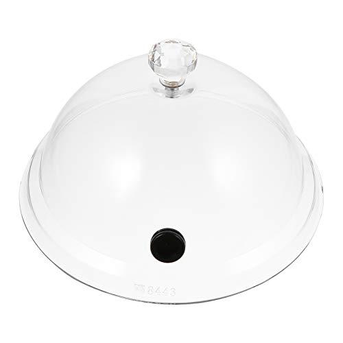 Yardwe Tapa de 20,32 cm, para ahumar, para platos, cuencos y vasos, accesorio de infusión de humo