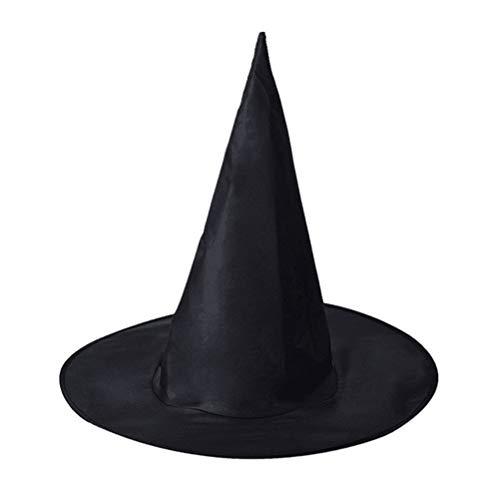 BSTCAR Halloween Hexenhut, 2020 Jahr Hexenhut Damen Erwachsene, für Halloween Party, Tanz-Cosplay, Maskerade USW