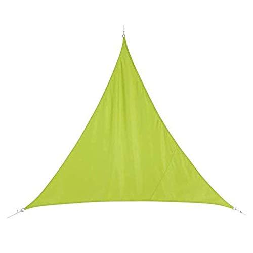 YSHUAI Toldo Vela Triangular Impermeable, Toldo Parasol, Toldo Vela De Sombra para Jardín, Impermeable A Prueba De Viento Protección UV para Patio, Exteriores,15'X15'X15'/4.5X4.5X4.5m