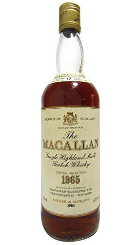 Macallan - Single Highland Malt - 1965 17 year old Whisky