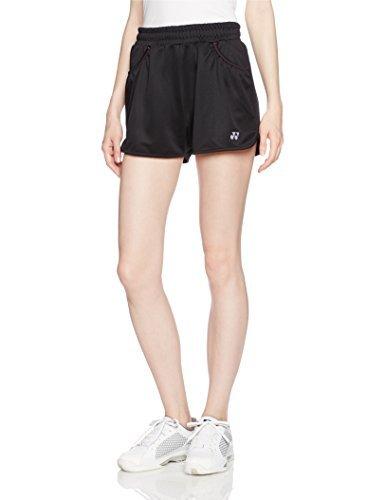 [ヨネックス] テニスウェア ニットショートパンツ [レディース] 25019 ブラック 日本 M-(日本サイズM相当)