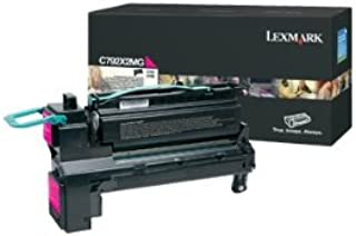 Lexmark Extra High Yield Magenta Toner Cartridge, 20000 Yield, for Use in Model C792/CS796 (C792X2MG)