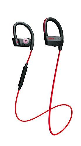 Jabra Sport Pace Cuffie Wireless Fitness, Compatibili con Smartphone Android e iOS, Rosso