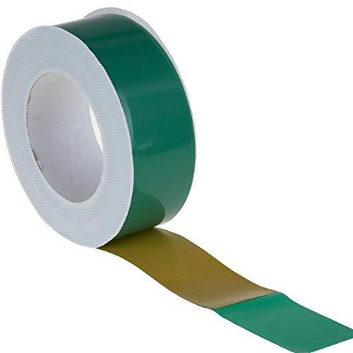 10x Dampfsperrklebeband grün 50mm x 25m - Hochleistungsklebeband für Dampfsperrfolie Dampfbremsfolie Dampfbremse Dampfsperre, universell einsetzbar