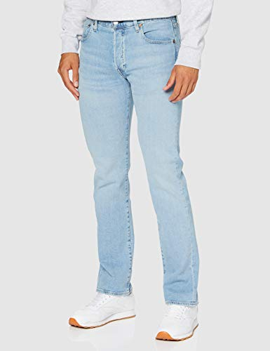 Levi's Herren 501 Levi's Original Fit Straight Jeans, Blau (Coneflower Bare 3051), 32W / 32L