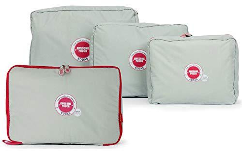 4 Pcs/Billigreisen Gepäckstücke Nylon-Verpackung Weekend Taschenverpackungswürfel Gepäck Organizer Gepäckaufbewahrung Koffer Organizer Koffer Organizer Reise Kleidertaschengsw