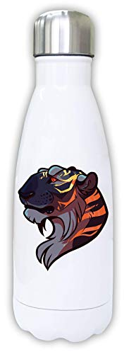 Iprints Red Eyed Tiger Aesthetic Nature Graphic Thermal Water Bottle