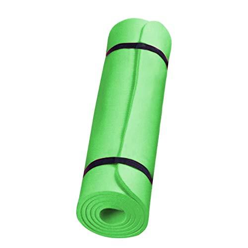BANLV Colchoneta de Yoga Antideslizante Estera Deportiva para Adelgazar Adelgazamiento Estera Antideslizante Ejercicio físico Verde