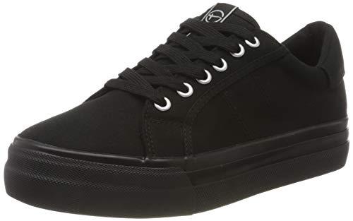 Tamaris Damen 1-1-23602-24 Sneaker, Schwarz (Black Uni 7), 39 EU