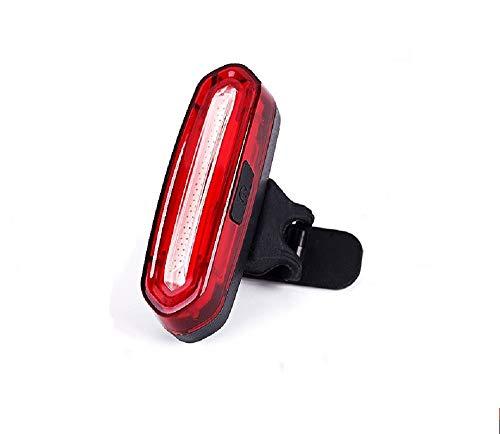 Batterie LED Rückleuchte, Rücklicht Fahrrad, Fahrradbeleuchtung, Fahrradrücklicht, Rücklicht mit 360° Bodenleuchte