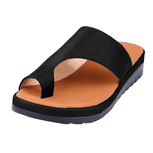 Sandalias Mujer Sandalias Meseta Zapatos cómodos