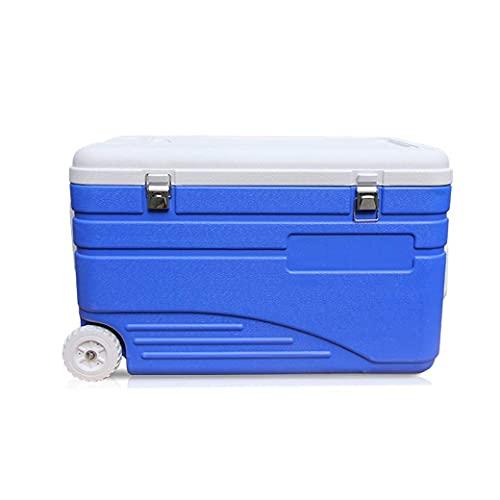 N\\C Tragbare Kühlbox Grill Outdoor Angeln Eiswürfelbox 105L Kühlbox, Gewicht 10kg LKWK