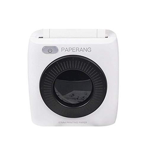 YUnnuopromi Portable 300DPI Paperang P2 Wireless Kamera Thermodrucker für Android iOS Schwarz Weiß