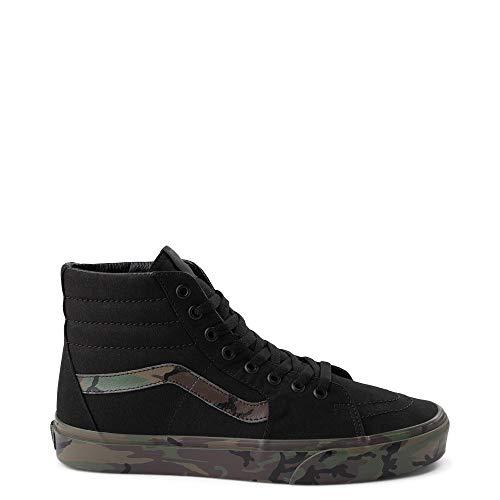 Vans Sk8 Hi Skate Shoe - Black/Camo (M10.5)