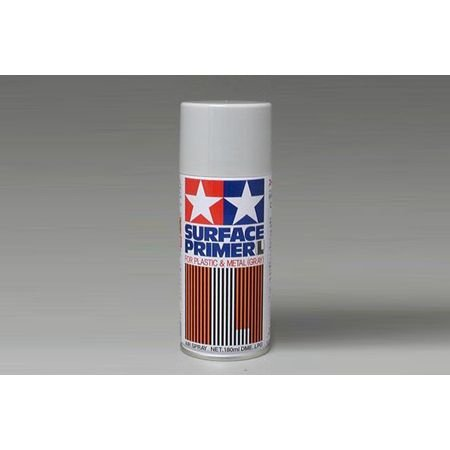 Tamiya TAM87042 87042 Surface Primer L Gray, 180ml...