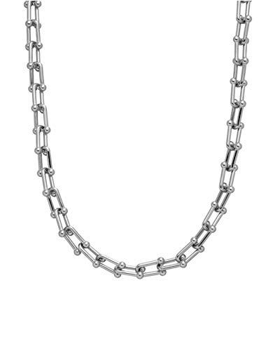 PURELEI® Kalele Halskette (Liquified Love Collection) 45 cm Länge (Silber)