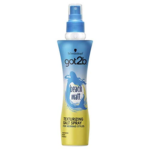 Got2b Texturizing Salt Spray/ Beach Babe/ welliger Style/ 200 ml/ Salz-Spray/ für Haare wie frisch vom Strand/ Beach Look Spray