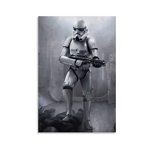 DRAGON VINES Star Wars Sith Storm Trooper - Póster e impresión para dormitorio, sala de estar, cocina, decoración de pared de 40 x 60 cm