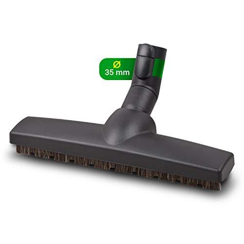 Brosse d'aspirateur, brosse pour sols durs, brosse parquet, accessoire de rechange pour aspirateur Miele Parquet Twister SBB300-3 Ø 35 mm – Brosse de sol pour parquet, stratifié, carrelage