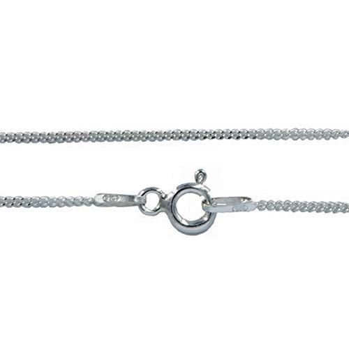Collar-cadena - Plata 925% de ley Longitud 45 cm Ancho 1,1 mm Peso 1,45 gr