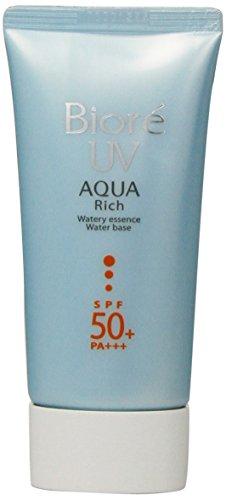 Kao, Biore Sarasara Uv Aqua Reiche Waterly Essence Sunscreen 50G Spf50 + Pa Für Gesicht Und Körper