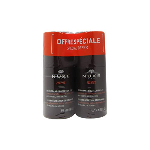 Nuxe Men 24hr Protection Deodorant 50mlx2