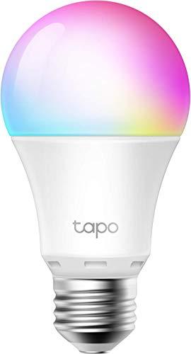 TP-Link Lampadina WiFi Intelligente LED Smart Multicolore, E27 Lampadina Compatibile con Alexa e...