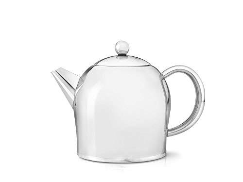 doppelwandige Teekanne Minuet® Santhee Edelstahl hochglanzpoliert 1,0 ltr.