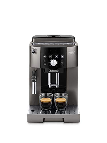 De'Longhi Magnifica S Smart, Fully Automatic Coffee Machine, Titanium & Black, ECAM25033TB