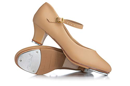 Theatricals Adult 1.5  Heel Baby Louis Character Tap Shoes T9800TAN08.5M Tan 8.5 M US