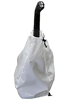 Equip, Inc. Protective Vacuum Cover. Dust, Pet, and Water Resistant with 3-Year Warranty (White)