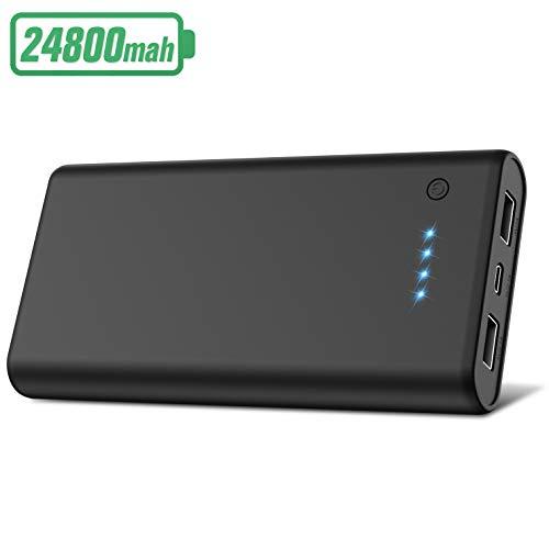 HETP Batterie Externe 24800mAh Haute Capacité Power Bank [Garantie 24...