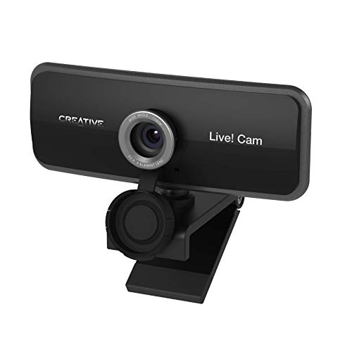 Creative Live! Cam Sync 1080p - Full HD-Weitwinkel-Webcam mit integriertem Dual-Mikrofon