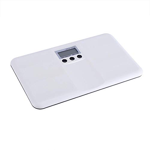 Electronic Weight Scale with Digital Display, Waterproof High Precision Baby Scales with Tare Function Low Battery and Lock Alarm Scale for Kitchen, Pet Weighting, Body Weighting
