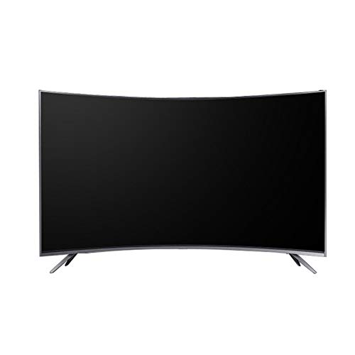 Smart TV Curvo De 32/42/55/60 Pulgadas, 720P Basic LED HD TV Televisión De Pantalla HDMI USB VGA Incorporado Puertos Ópticos para Auriculares - Frecuencia De Actualización 60Hz