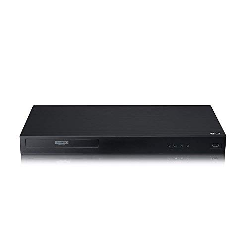 LG UBKM9 Streaming Ultra-HD Blu-Ray Player with Streaming Services and Built-in Wi-Fi (Renewed)