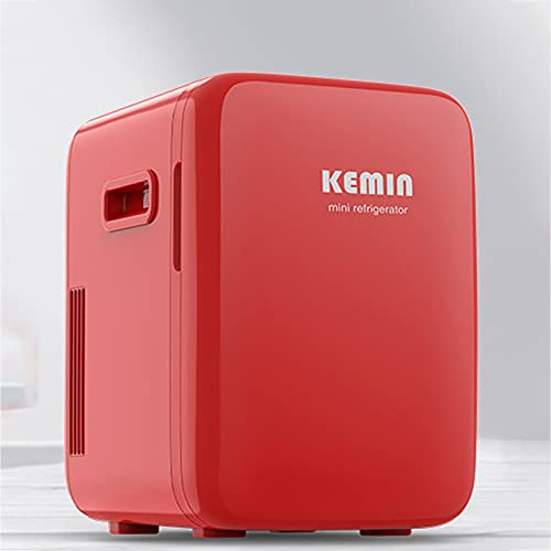 YQY 10 litros Portátil Mini refrigerador Bebidas Compact Bebidas Frigorífico Frigorífico y Warmerac + DC Power para Hoteles, Dormitorios, Hogar, Coche, Cuidado de la Piel, Cosméticos, Alimentos