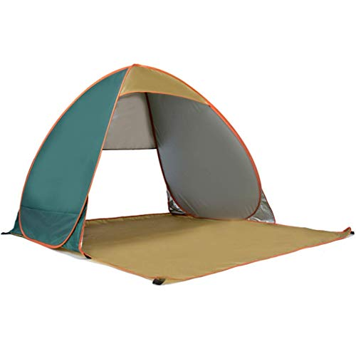 WY-YAN Outdoor Tent Camping Automatic Pop-up Family Tent Travel Waterproof Portable Lightweight Dome Tent